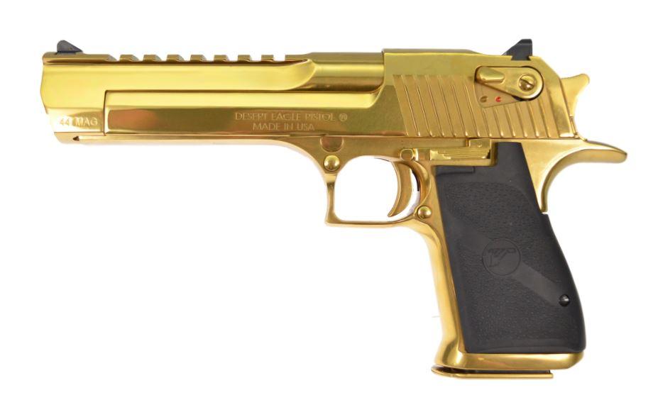 Desert Eagle .44 Magnum, Titanium Gold