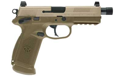 Featured FNX TACT 45ACP 15RD FDE NS 3MAG