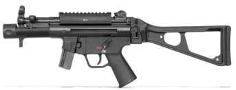 Featured Heckler&Koch HK SP5k 9mm