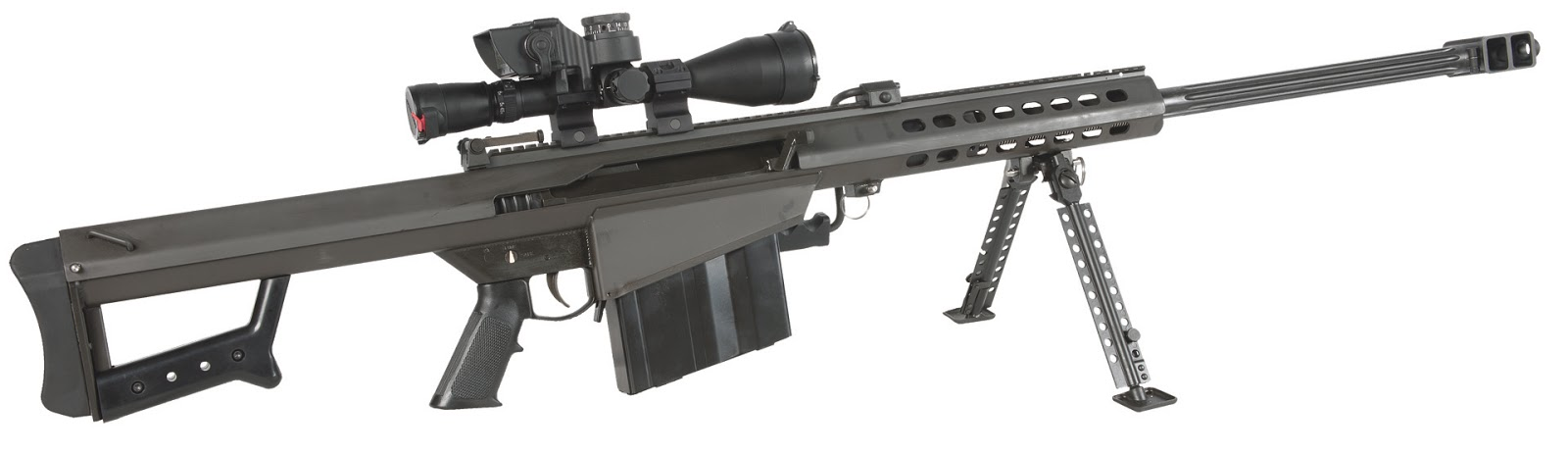 Featured Barrett 82A1 SemiAuto 29''