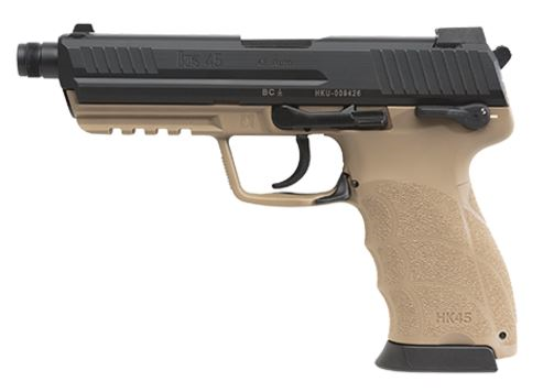Featured HK45 Tactical Braun 45ACP TB